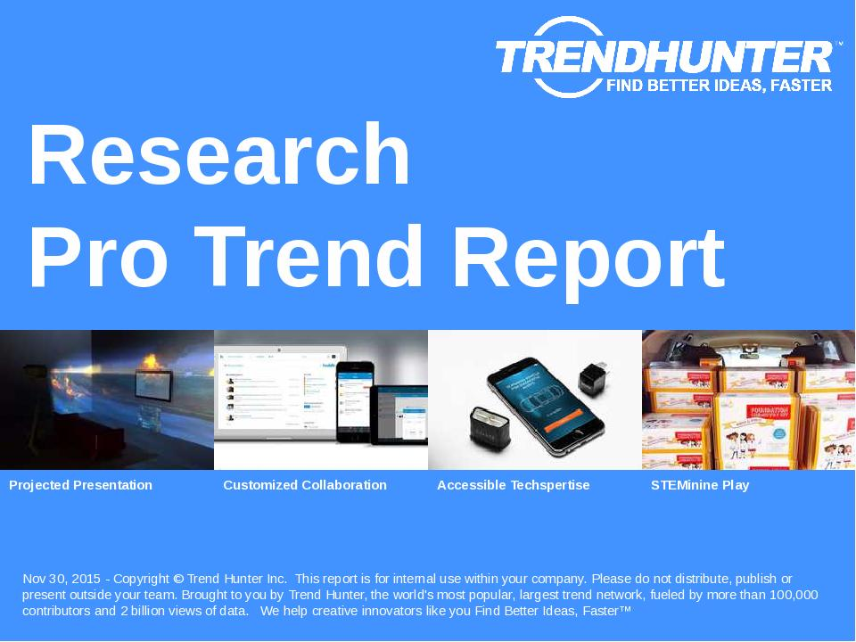 Research Trend Report Research