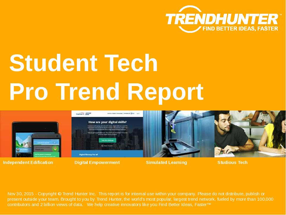 Student Tech Trend Report Research