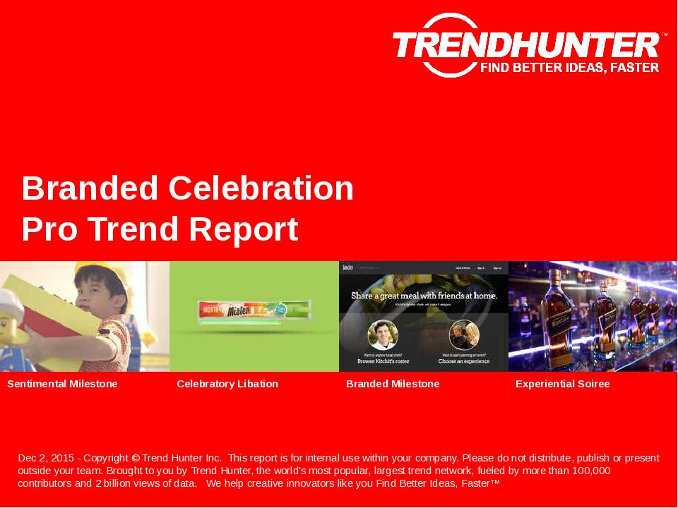 Branded Celebration Trend Report Research
