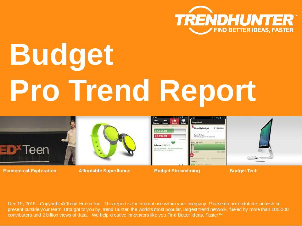 Budget Trend Report Research