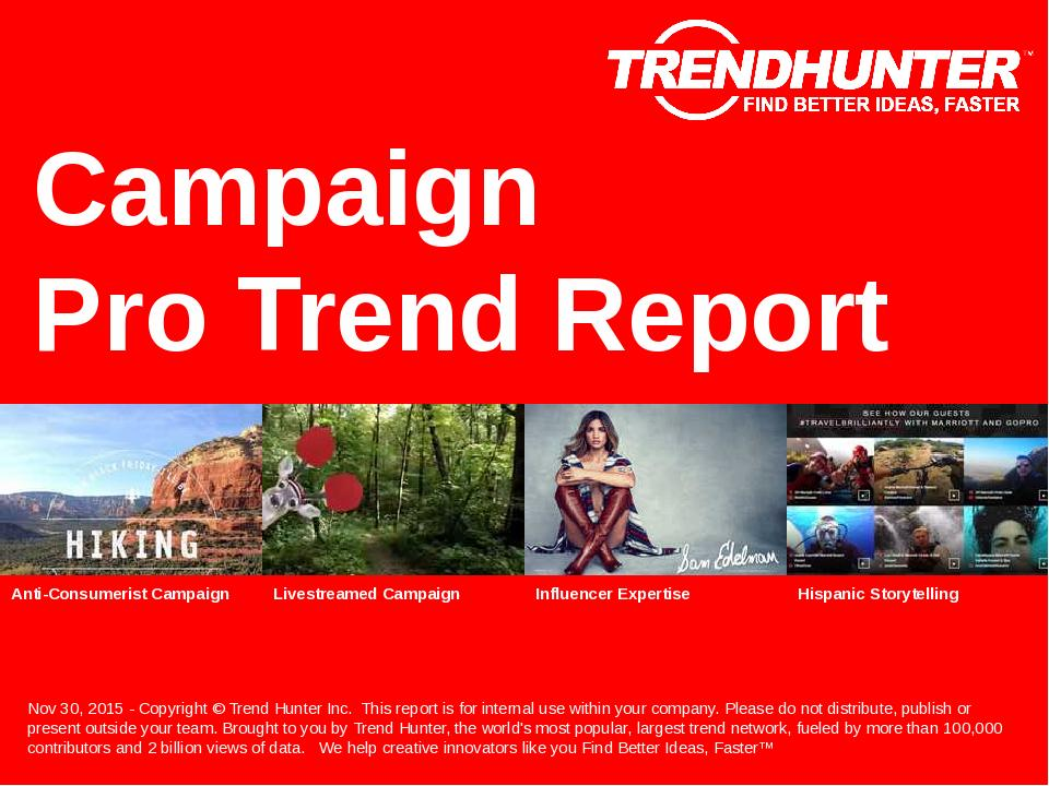 Campaign Trend Report Research