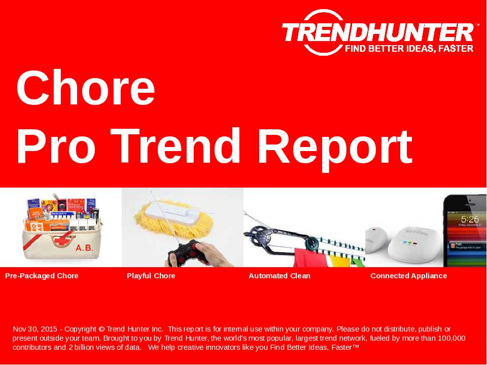 Chore Trend Report Research