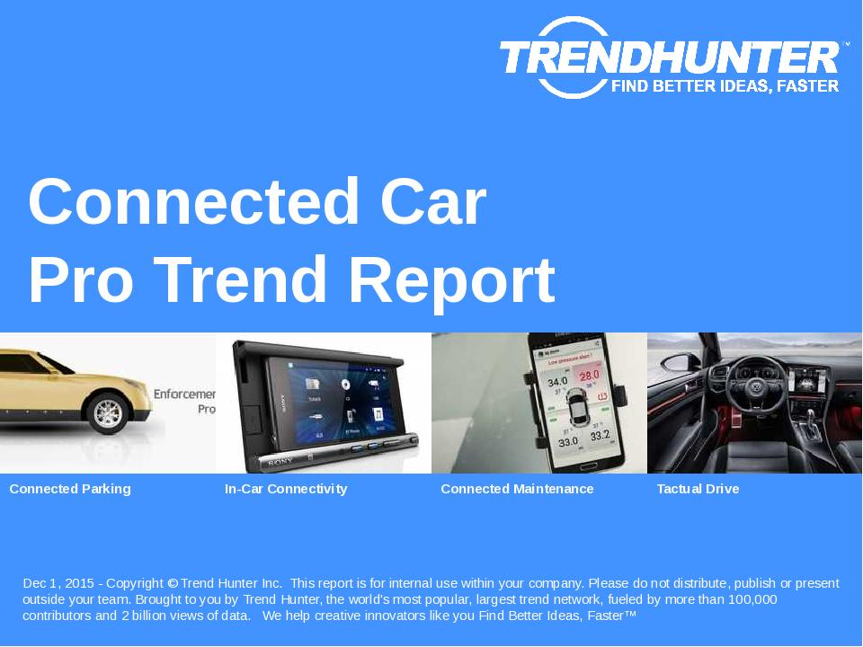 Connected Car Trend Report Research