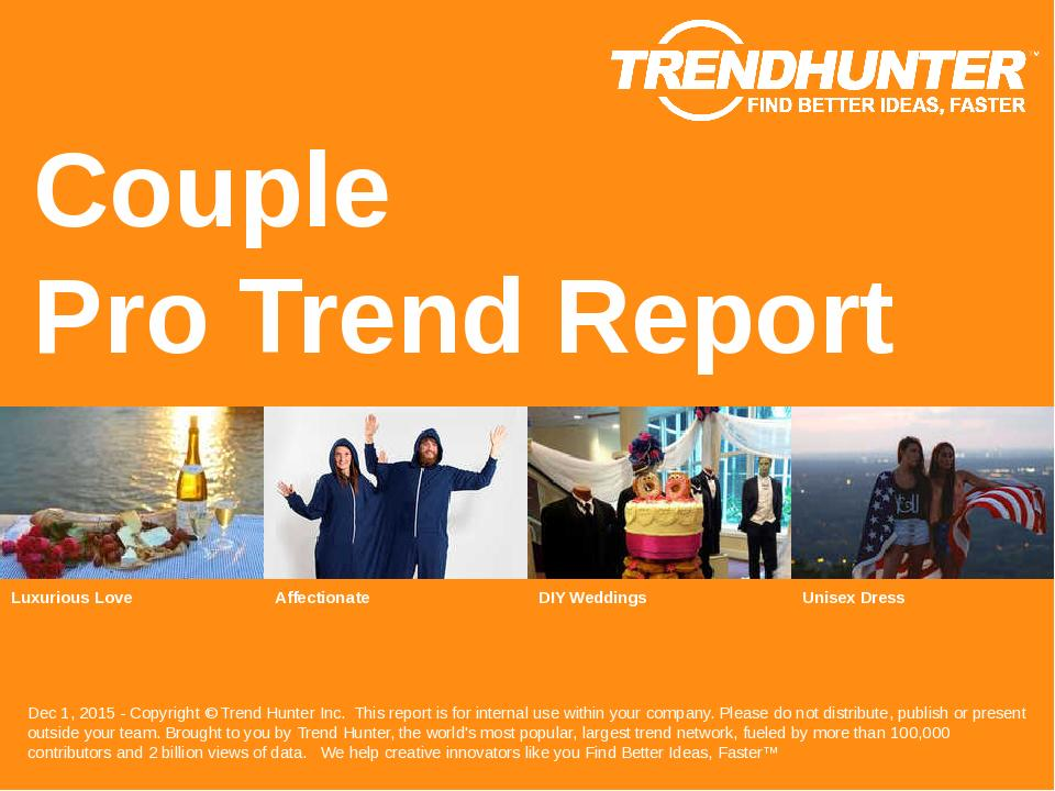 Couple Trend Report Research