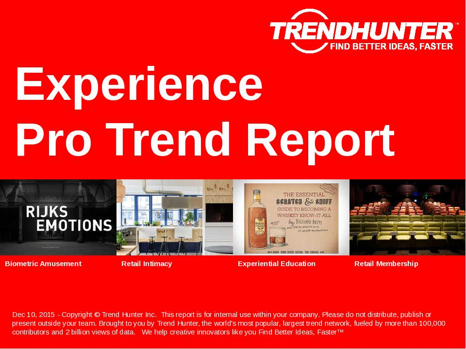 Experience Trend Report Research