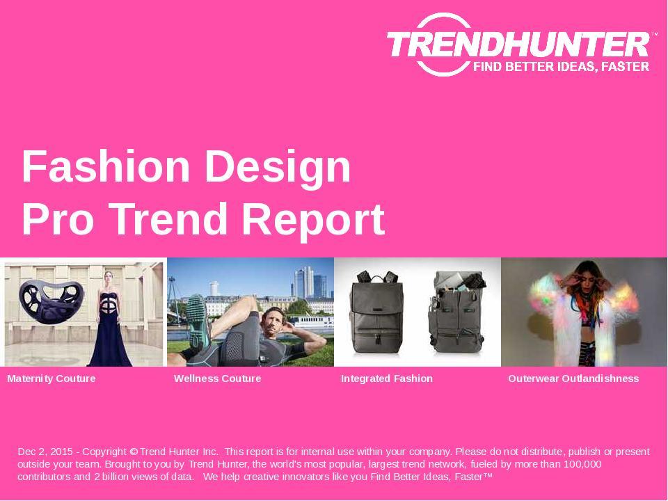 Fashion Design Trend Report Research