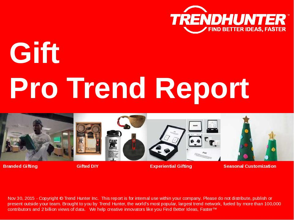 Gift Trend Report Research