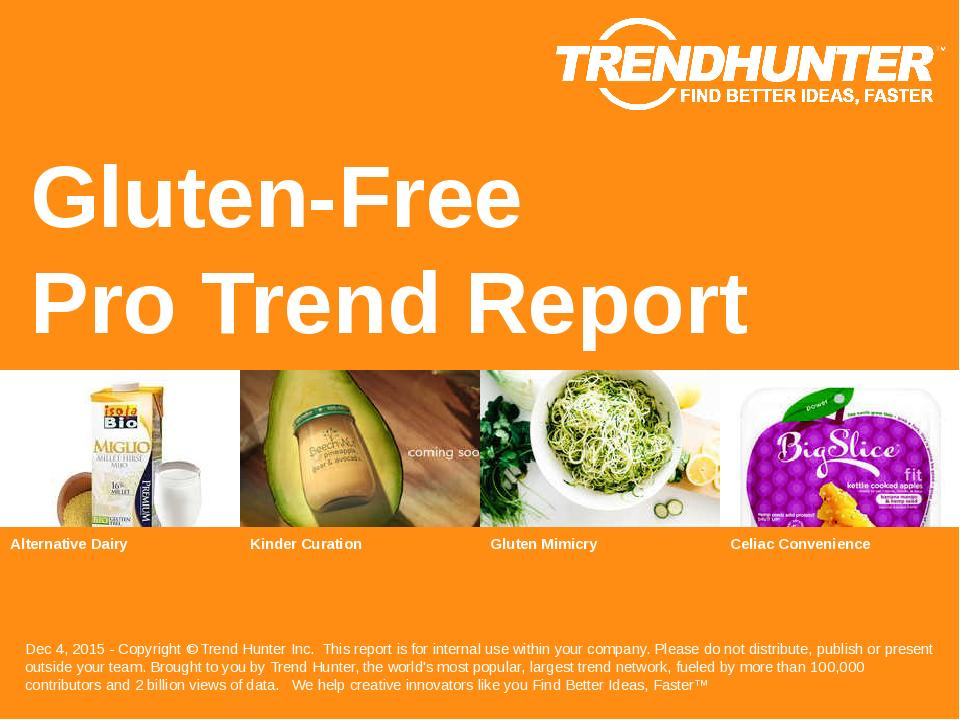 Gluten-Free Trend Report Research
