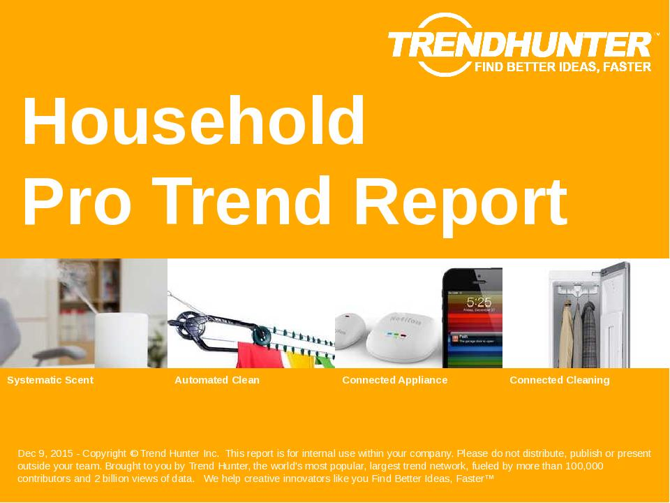 Household Trend Report Research