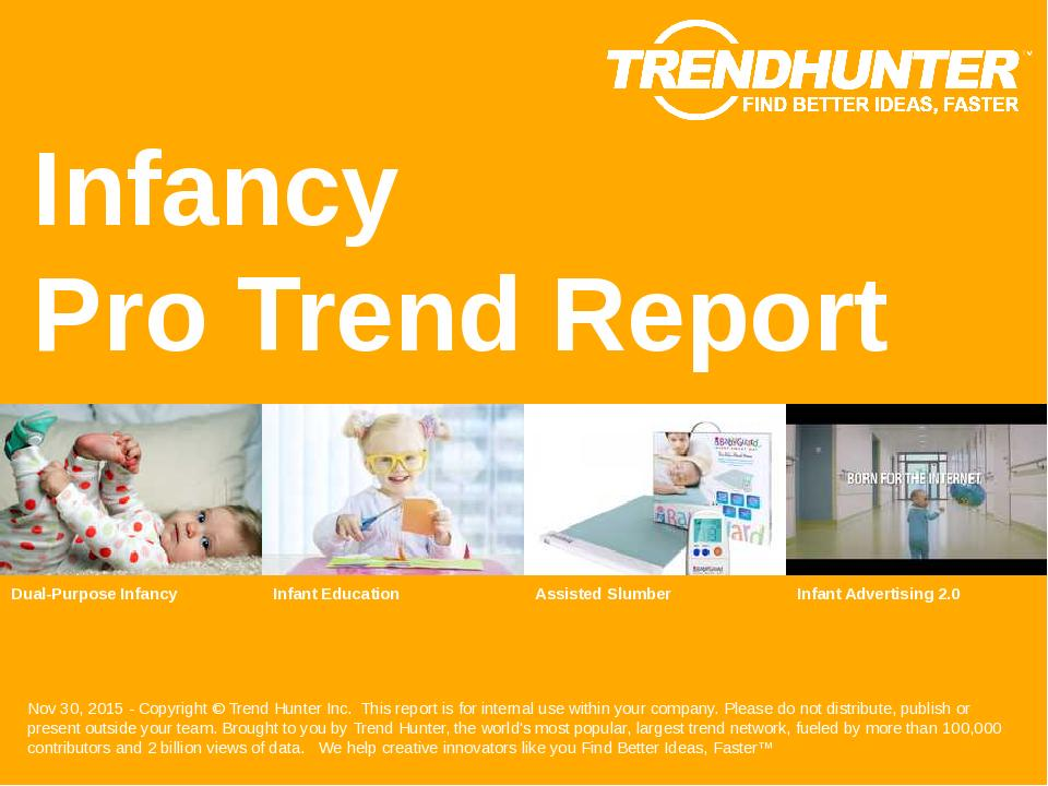 Infancy Trend Report Research