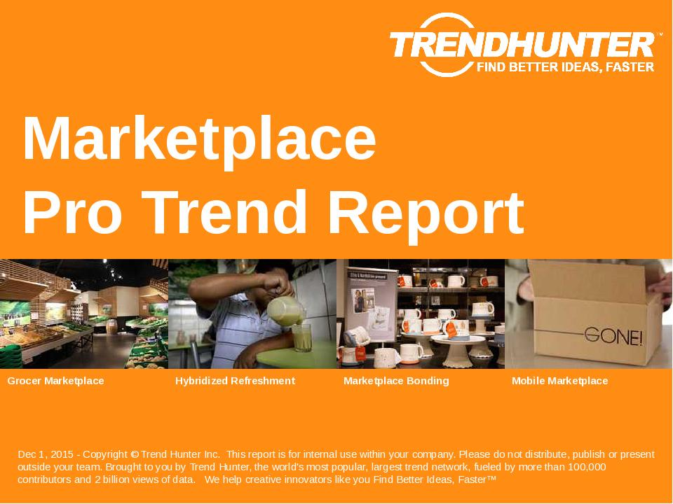 Marketplace Trend Report Research