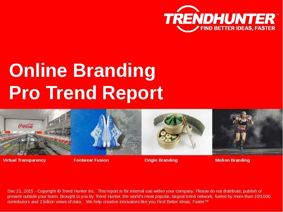 Online Branding Trend Report Research