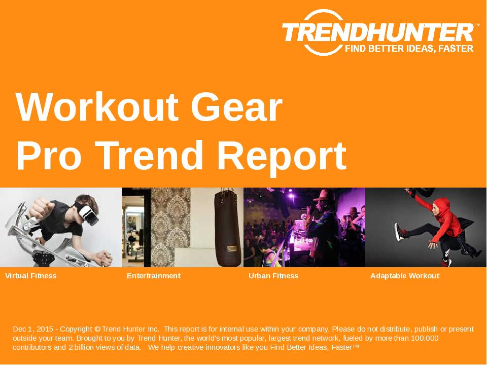 Workout Gear Trend Report Research