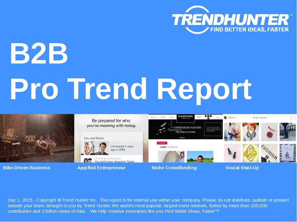 B2B Trend Report Research