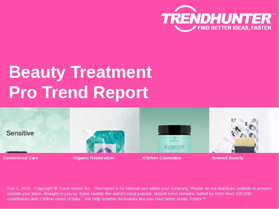 Beauty Treatment Trend Report Research