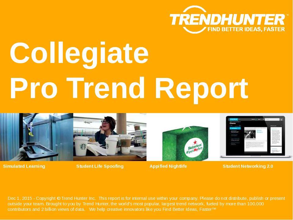 Collegiate Trend Report Research