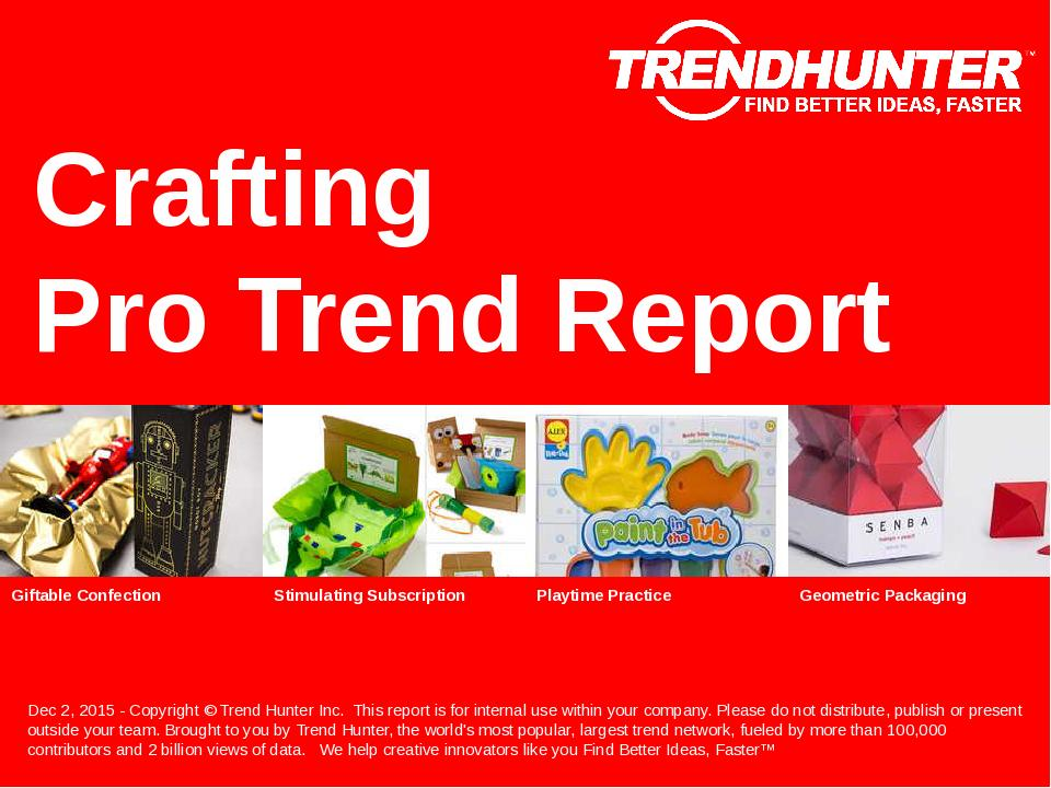 Crafting Trend Report Research