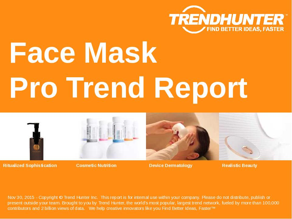 Face Mask Trend Report Research