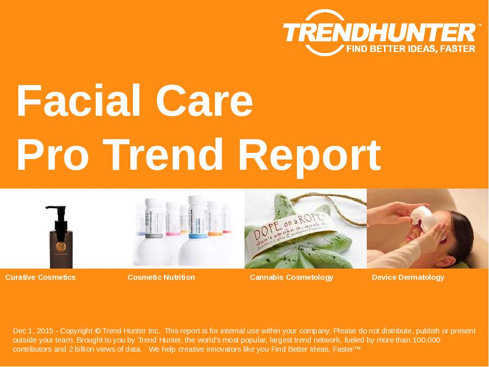 Facial Care Trend Report Research