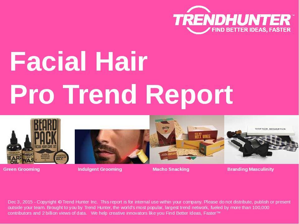 Facial Hair Trend Report Research