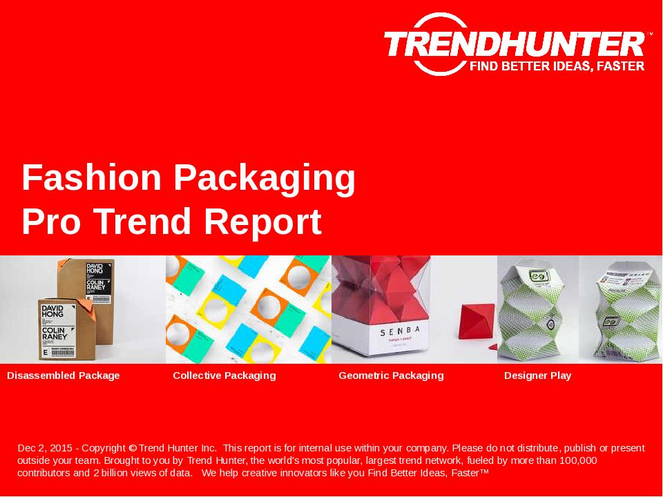 Fashion Packaging Trend Report Research