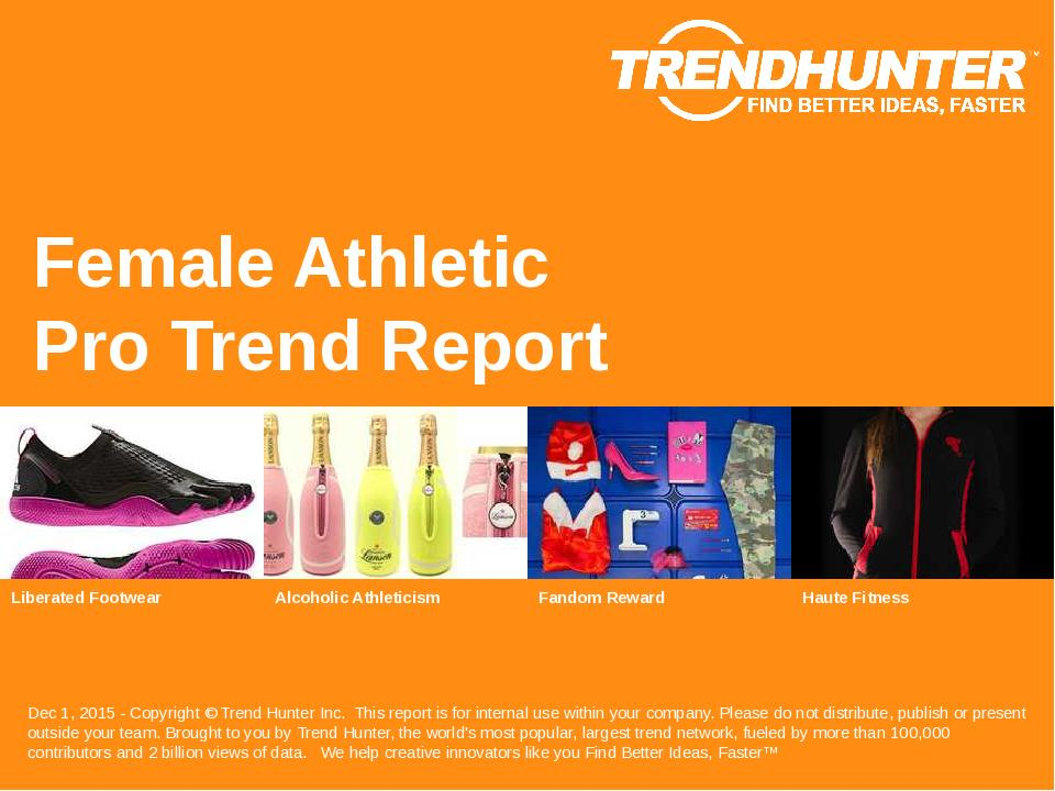 Female Athletic Trend Report Research