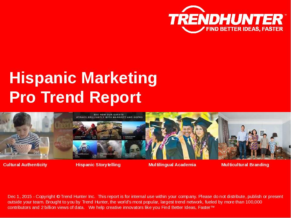 Hispanic Marketing Trend Report Research