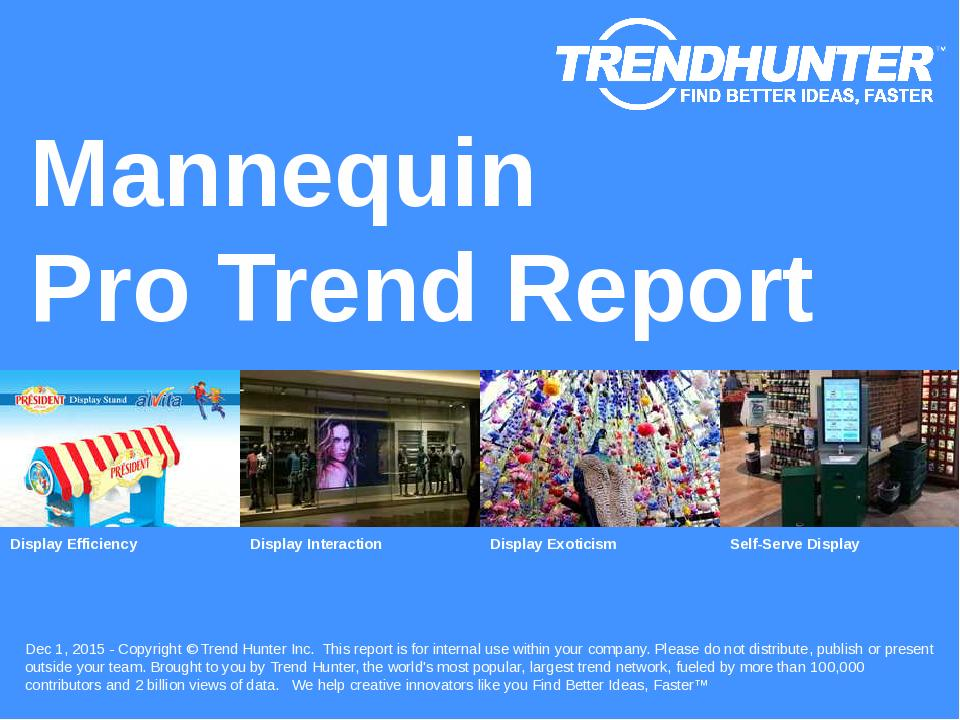 Mannequin Trend Report Research