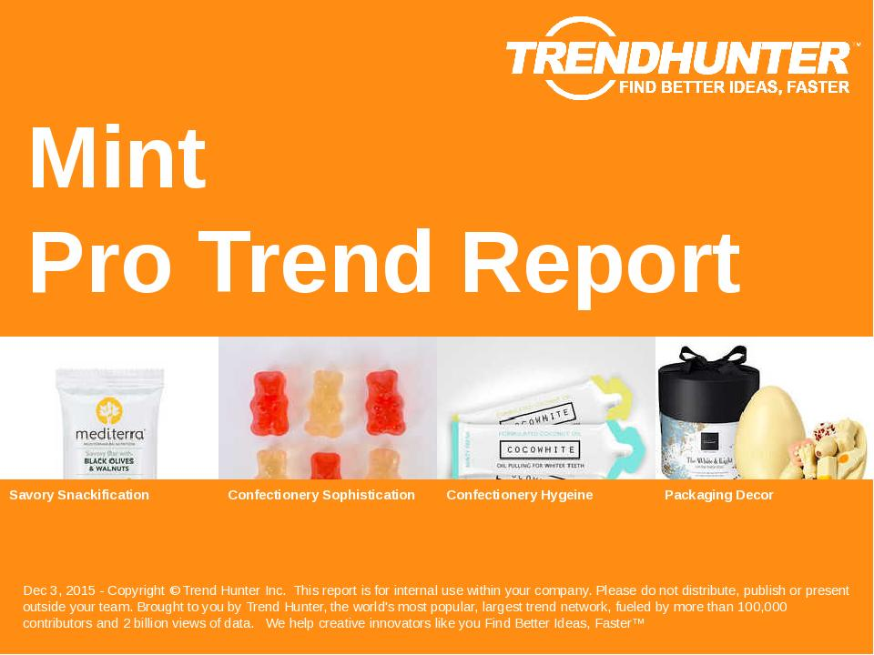 Mint Trend Report Research