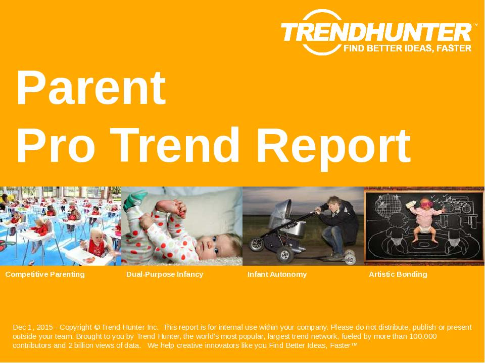 Parent Trend Report Research