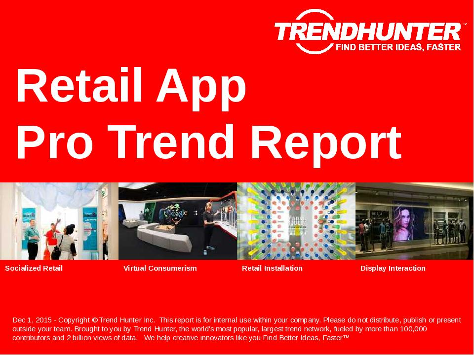 Retail App Trend Report Research