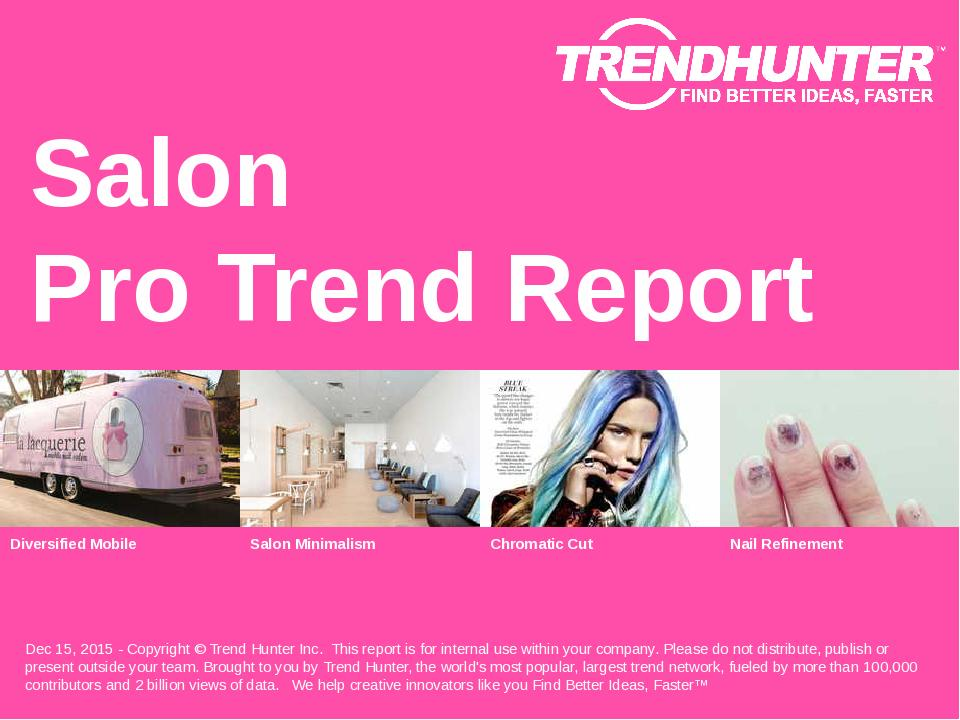 Salon Trend Report Research
