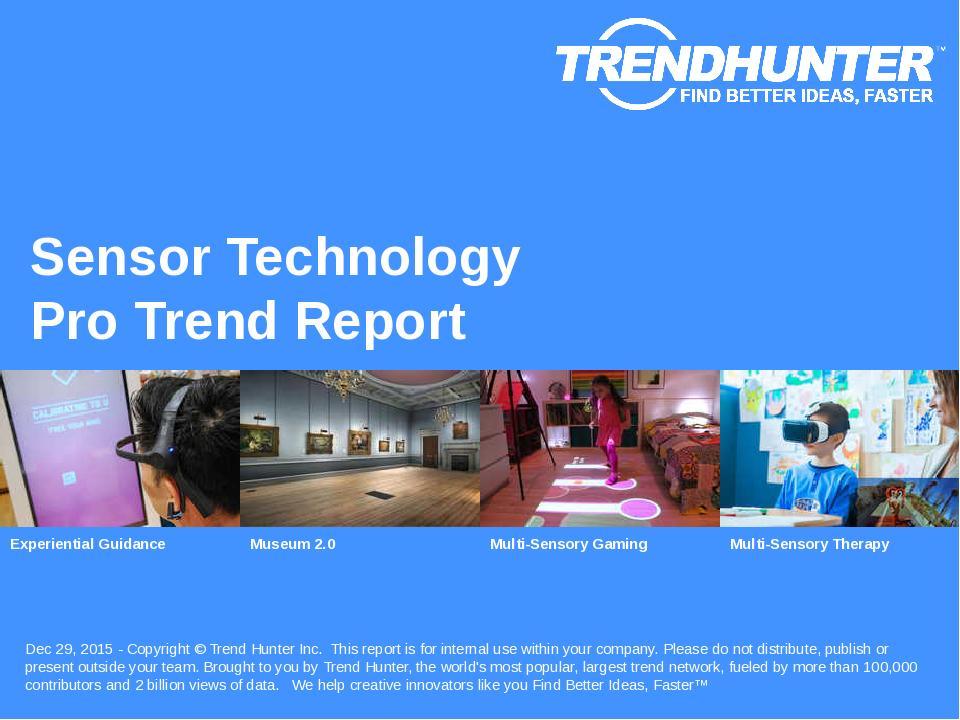 Sensor Technology Trend Report Research