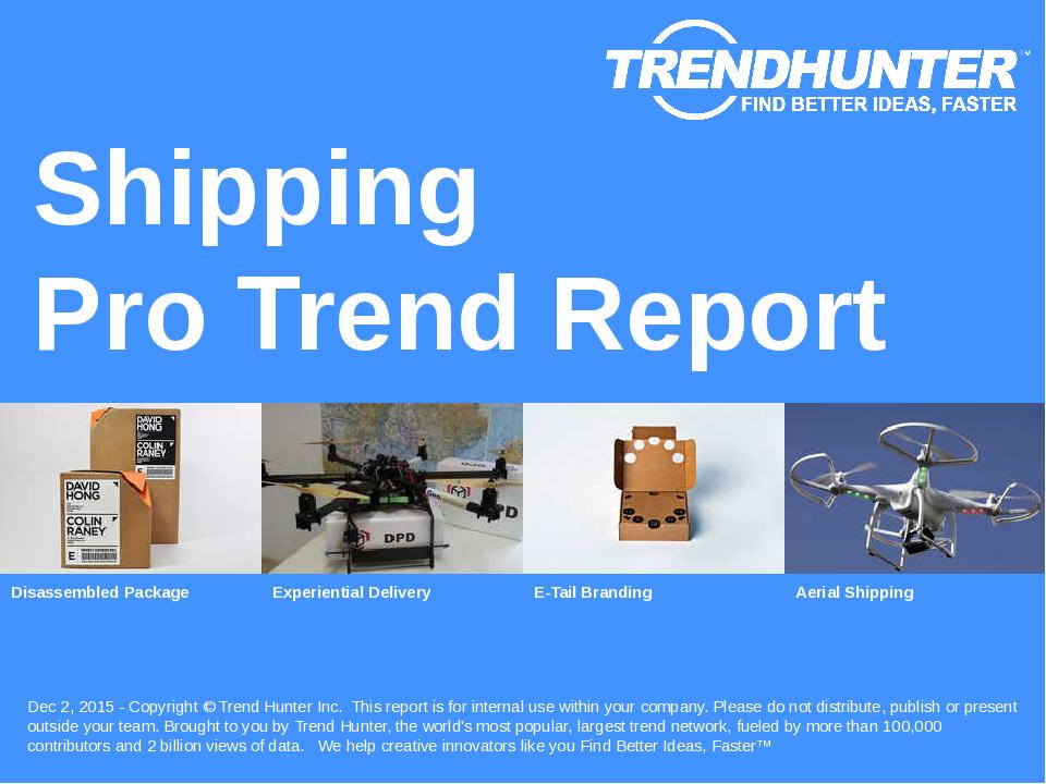 Shipping Trend Report Research