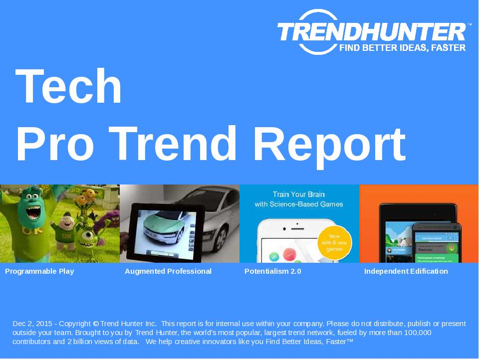 Tech Trend Report Research
