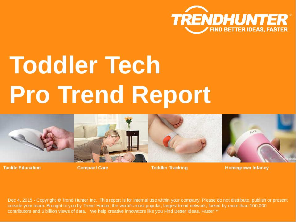 Toddler Tech Trend Report Research
