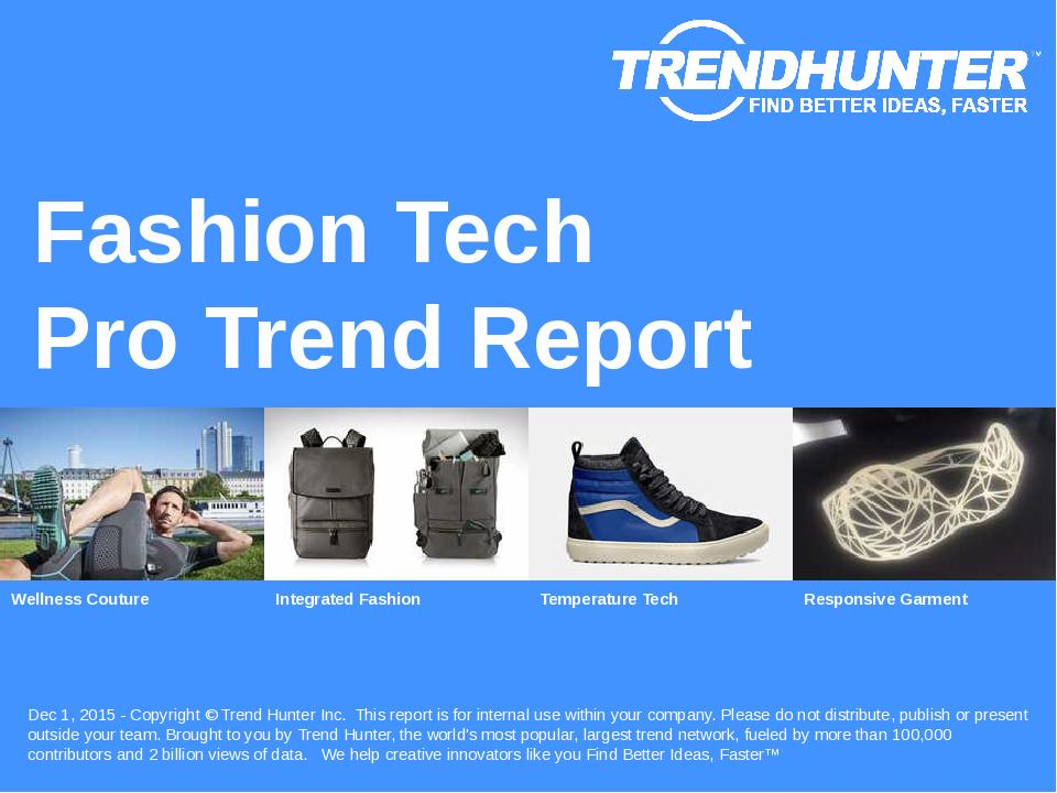 Fashion Tech Trend Report Research