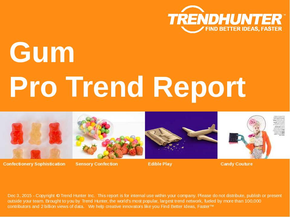 Gum Trend Report Research