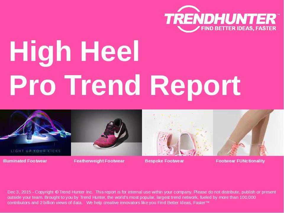 High Heel Trend Report Research
