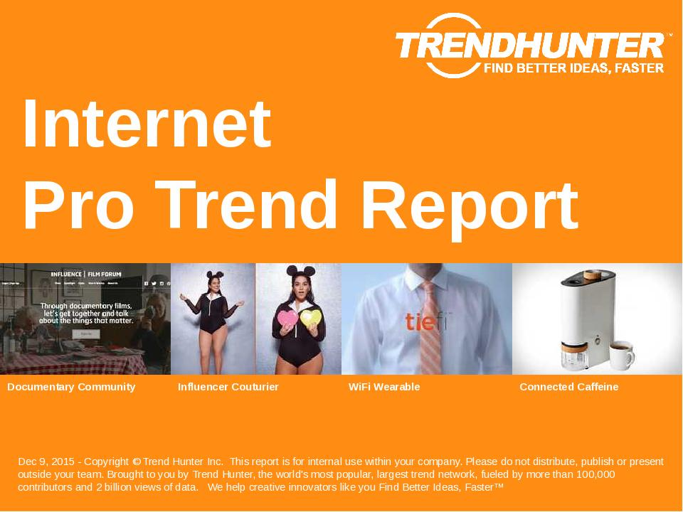 Internet Trend Report Research