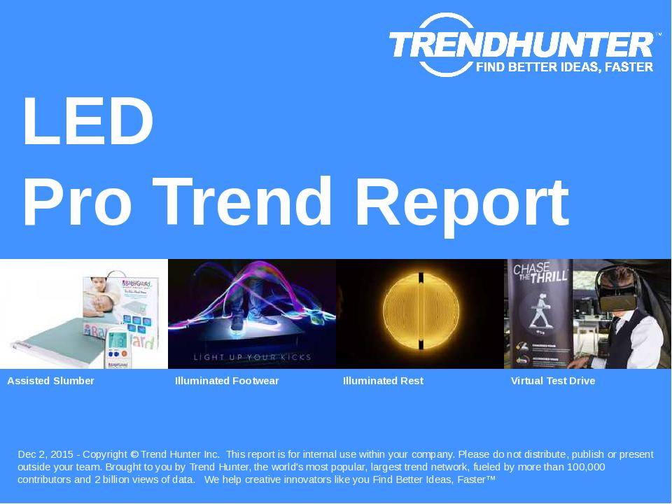 LED Trend Report Research