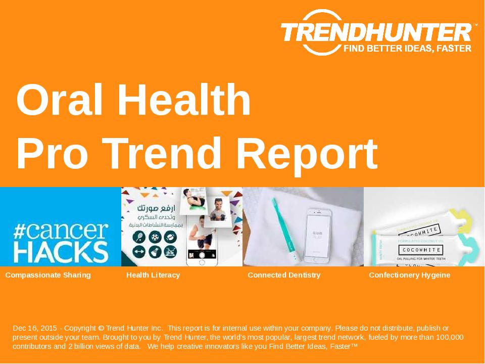 Oral Health Trend Report Research