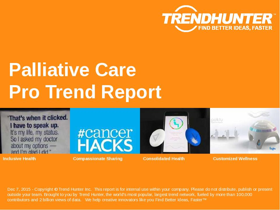 Palliative Care Trend Report Research