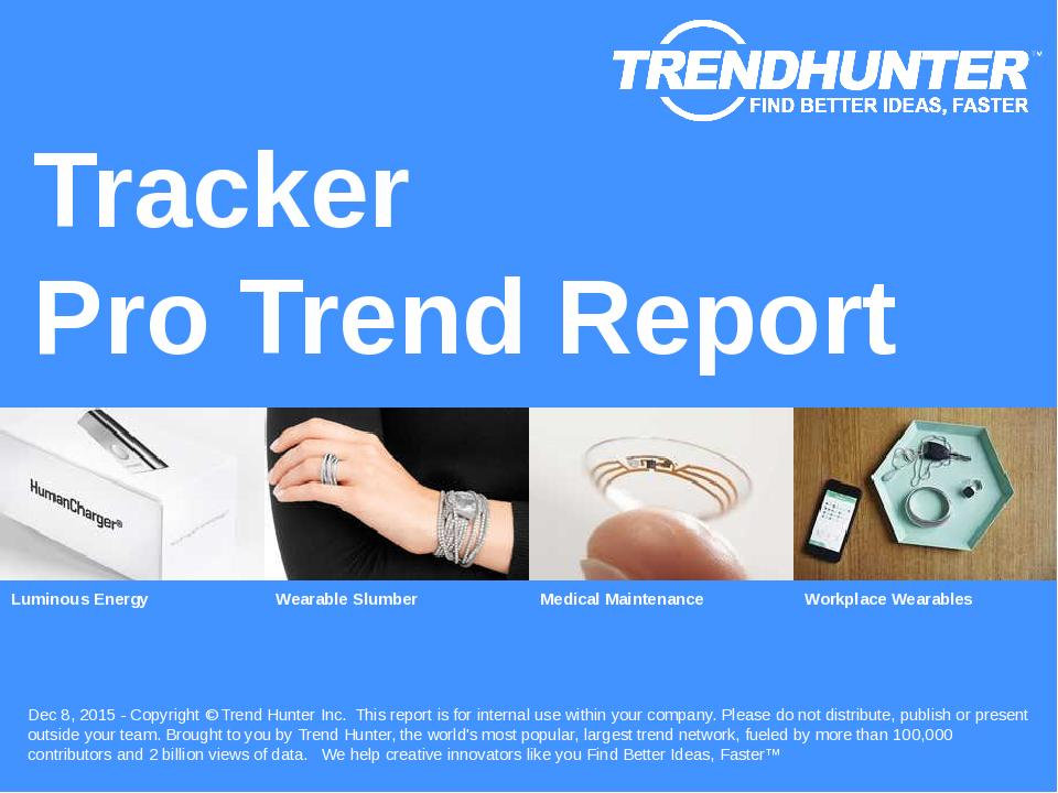 Tracker Trend Report Research