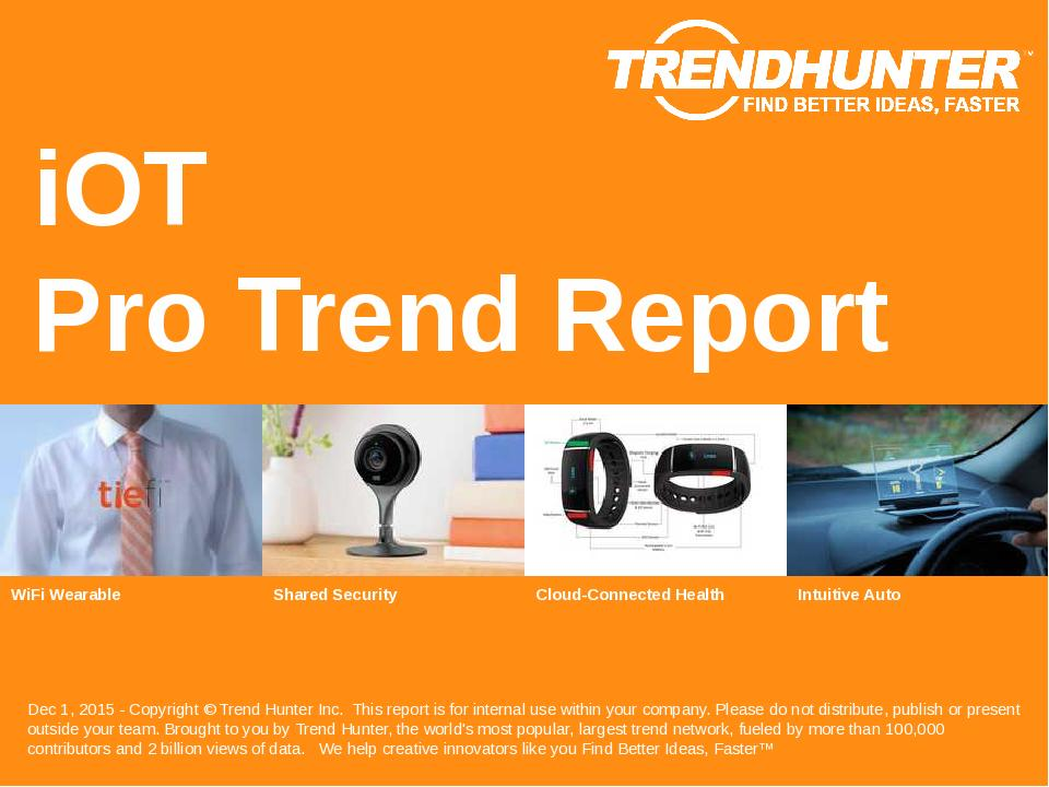 iOT Trend Report Research