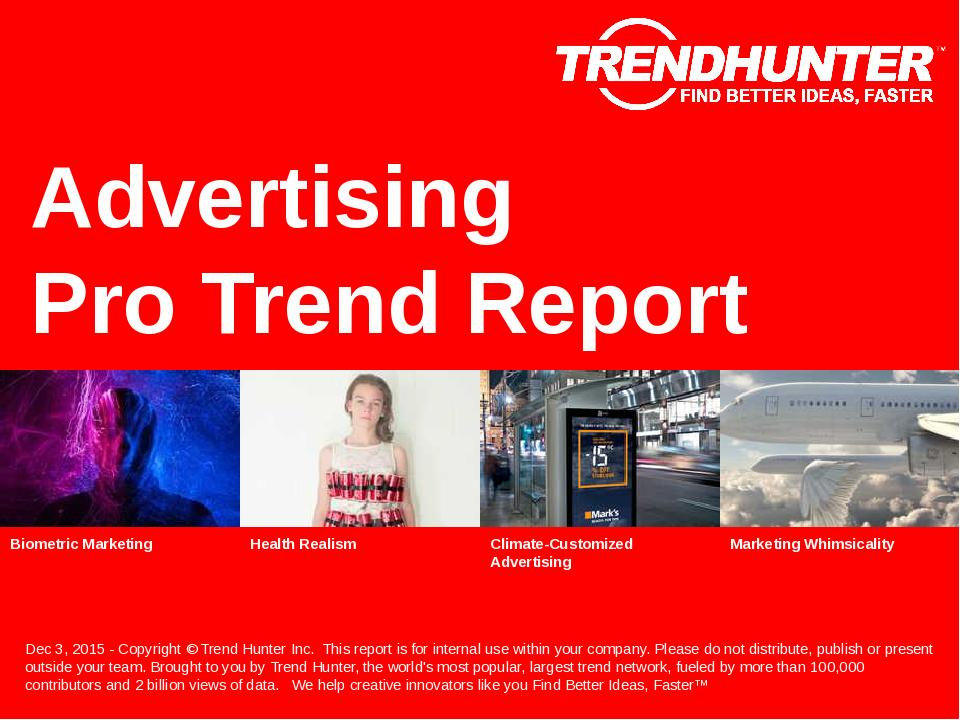 Advertising Trend Report Research