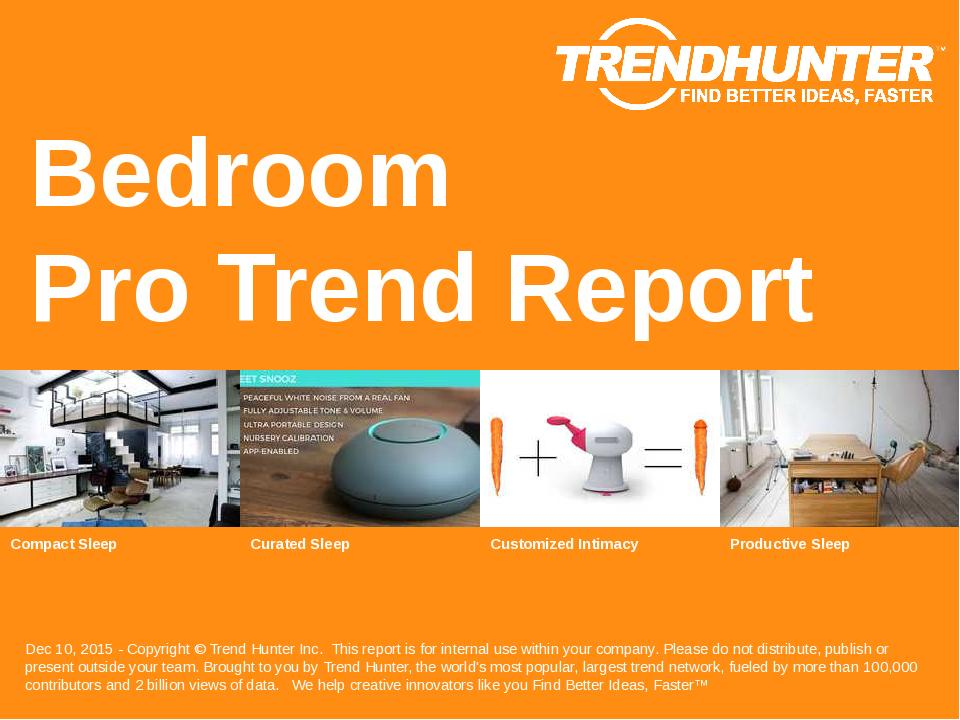 Bedroom Trend Report Research