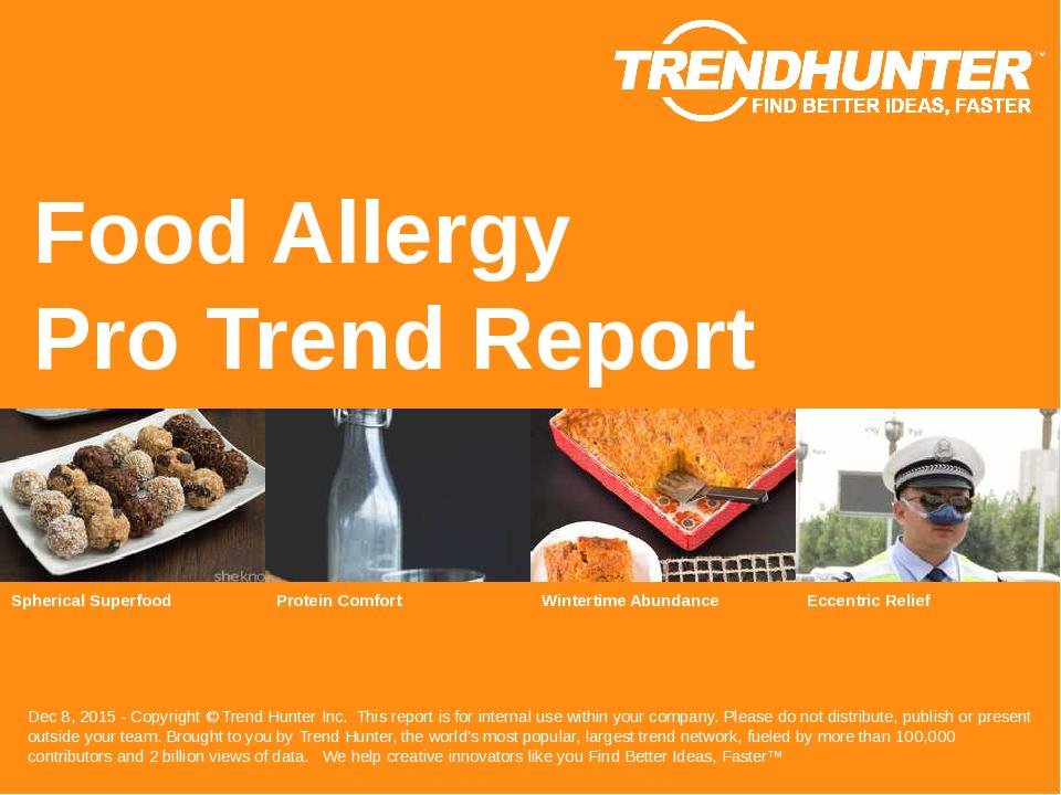 Food Allergy Trend Report Research