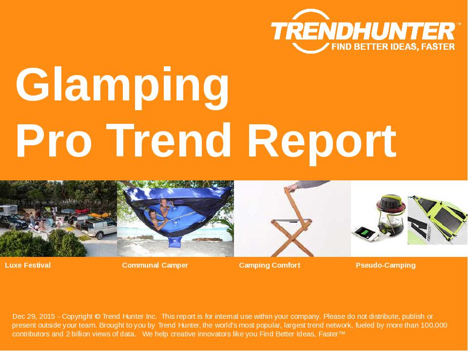 Glamping Trend Report Research