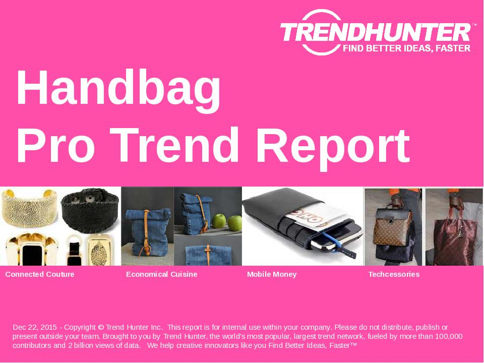Handbag Trend Report Research